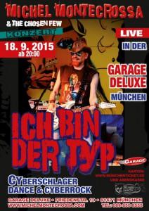 Ich-bin-der-Typ-Garage-final-4-Konzert-Plakat