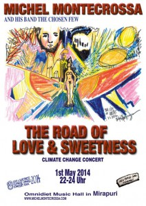 The-Road-of-Love-Konzert-Plakat